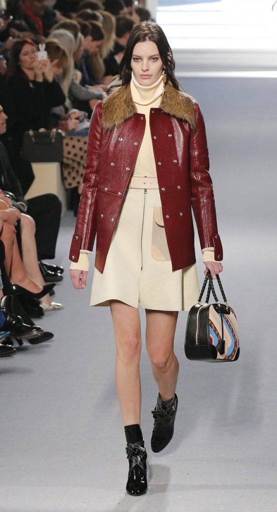 Cappotto e abito Louis Vuitton