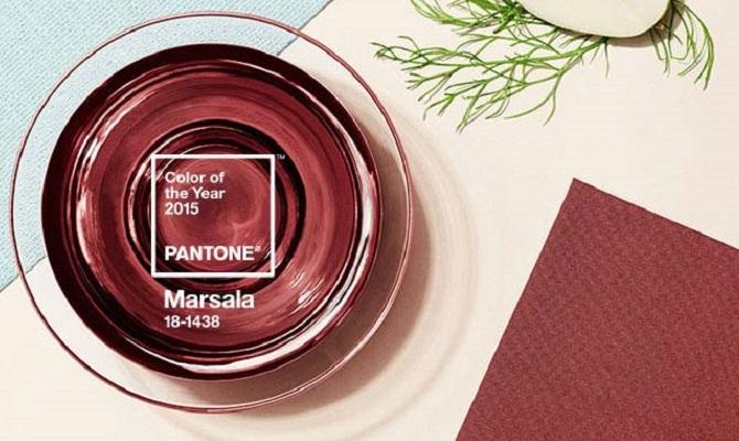 Marsala, il colore dell'anno