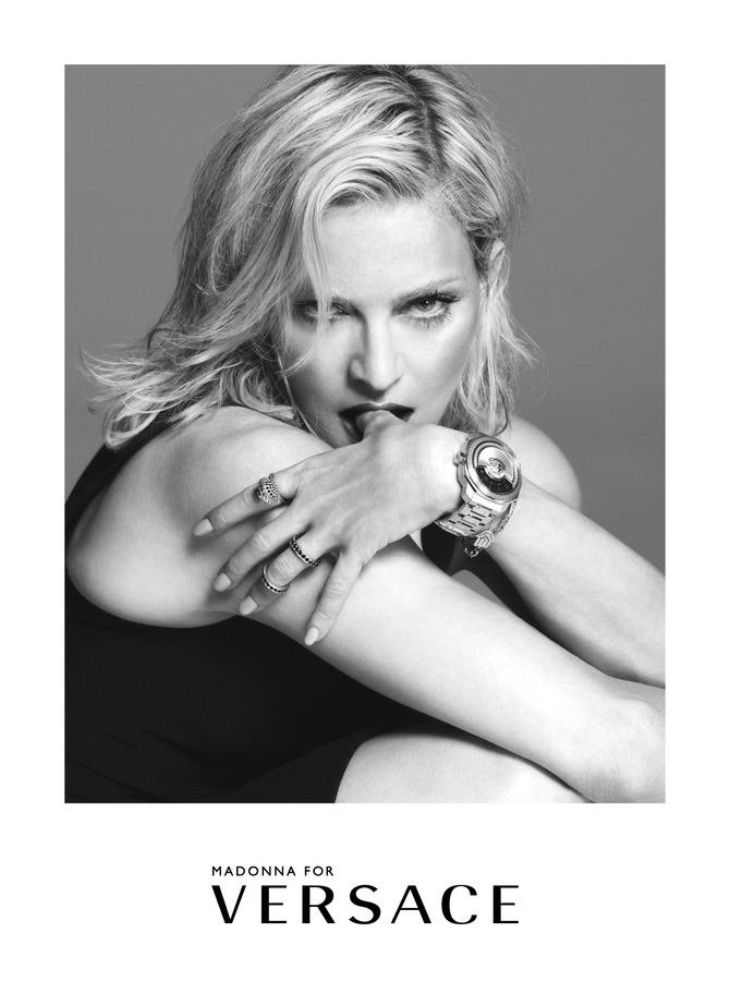Madonna per Versace