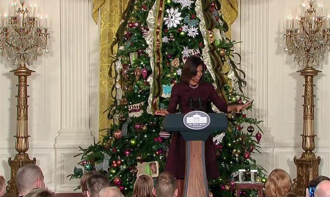 Natale a casa Obama