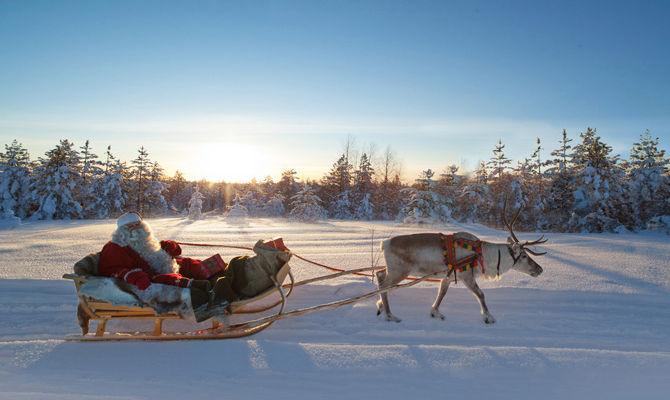 Lapponia, gli scenari incantati dove vive Babbo Natale