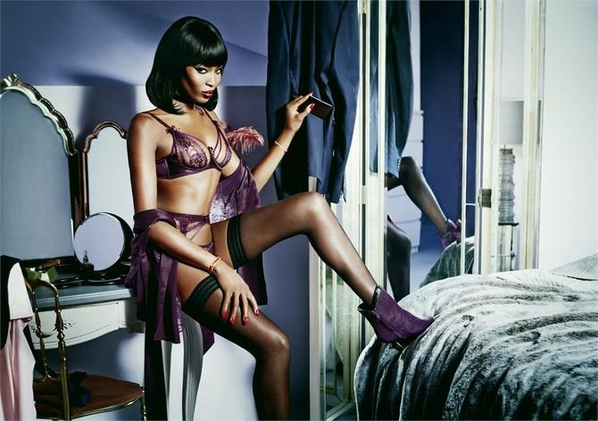 Naomi Campbell per Agent Provocateur