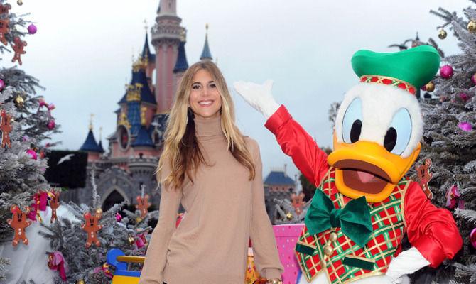 Romanoff e Gregoraci: principesse a Disneyland