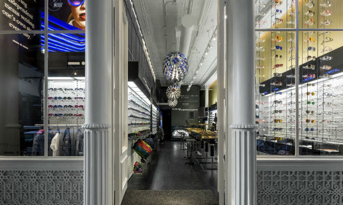 Italia Independent flagship store new york