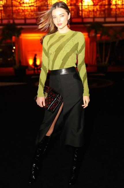 Miranda Kerr inLouis Vuitton