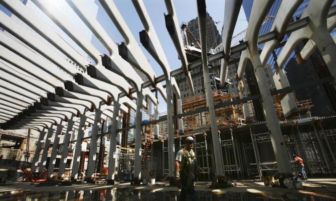 Calatrava firma la nuova stazione del WTC