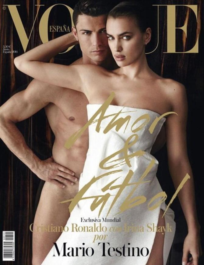 Irina Shayk e Cristiano Ronaldo