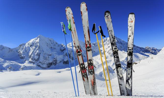 piste da sci, sci, neve, montagna