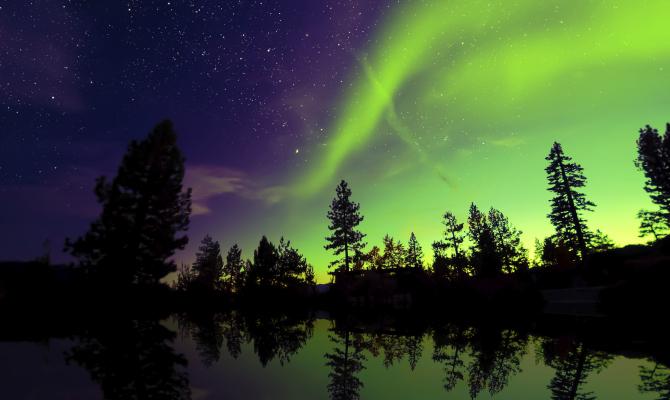Tutta la magia dell'Aurora Boreale