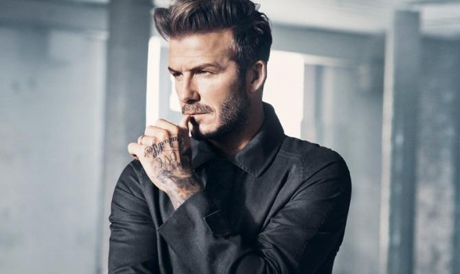 David Beckham, veste la primavera di H&M