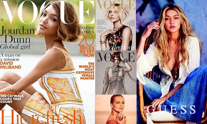 Top trending model: anche le modelle vanno di moda