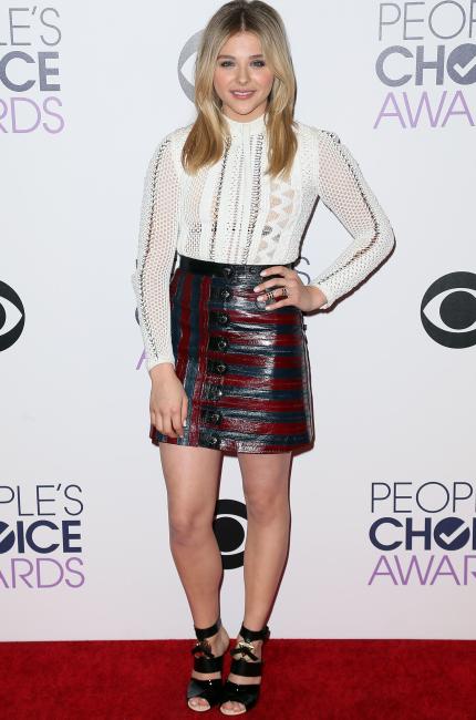 Chloë Grace Moretz in Louis Vuitton