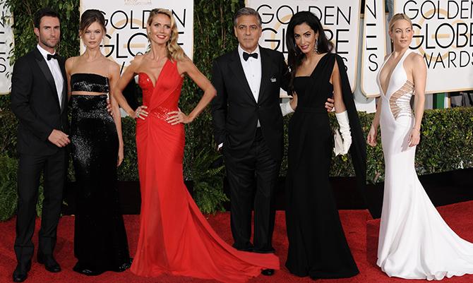 Golden Globe 2014: i look da red carpet
