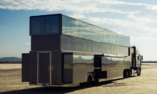 The Heat, mobile home di lusso