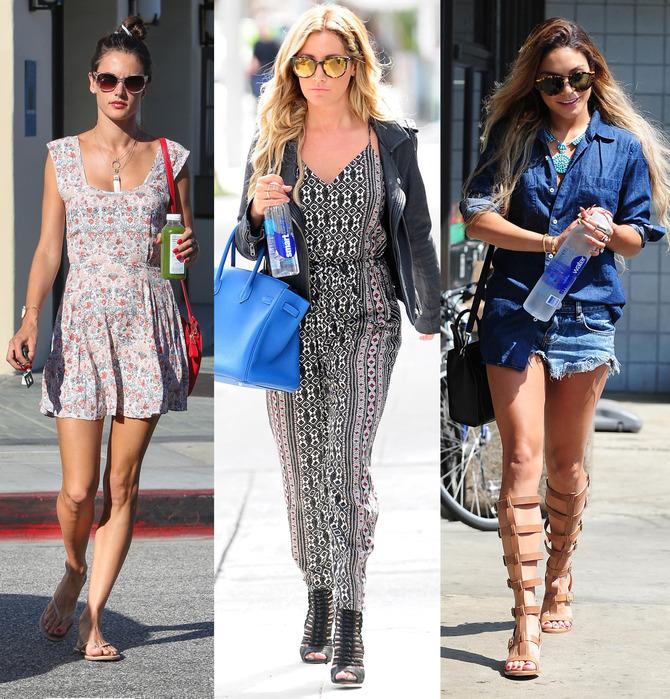 Alessandra Ambrosio, Ashley Tisdale, Vanessa Hudgens