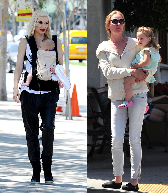 Gwen Stefani e Uma Thurman
