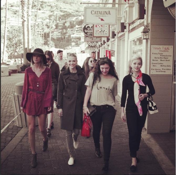 Taylor Swift e amiche