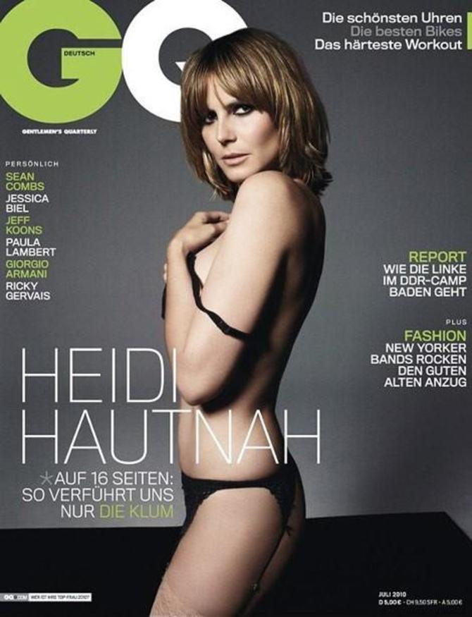 Heidi Klum per GQ