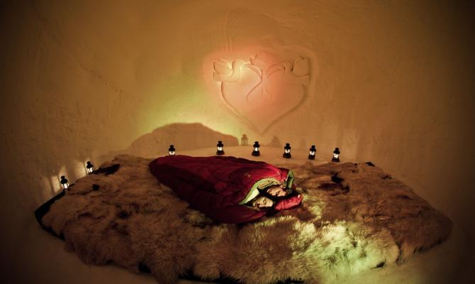 L'amore è sotto zero all'Iglu Village di Kuhtai