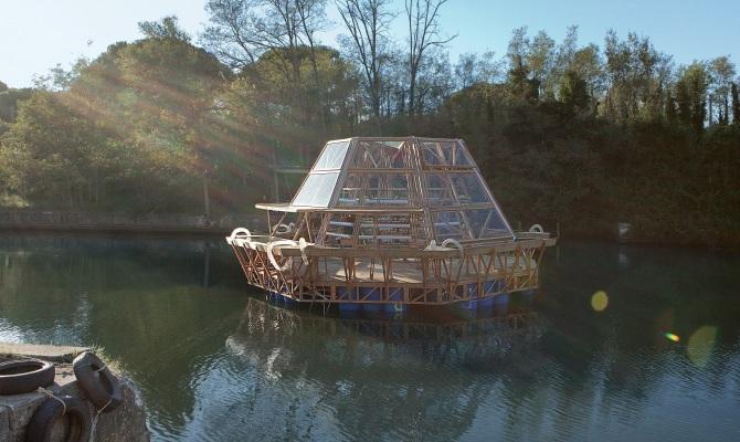 Jellyfish Barge, la serra galleggiante