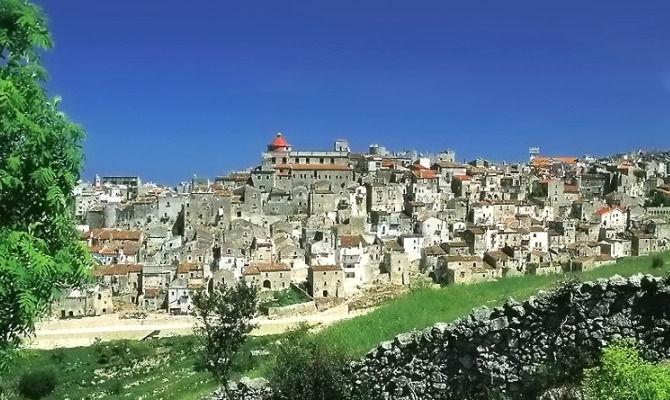 Vico del Gargano, in Puglia il paese dell'amore
