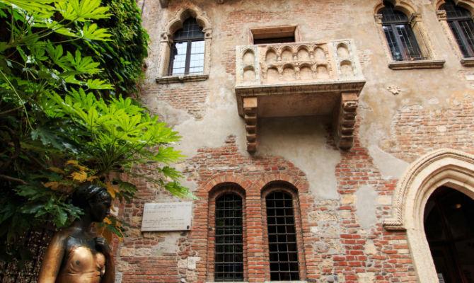 Verona: i luoghi storici di Romeo e Giulietta