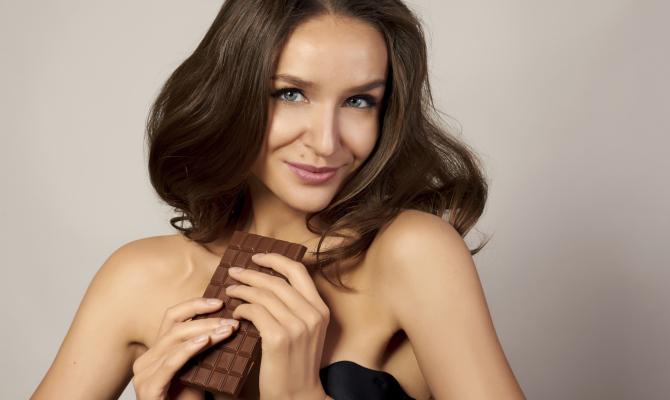 barretta, donna, cioccolato