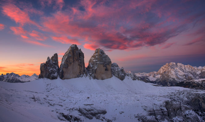 Dolomiti, San Valentino a prova di vertigini