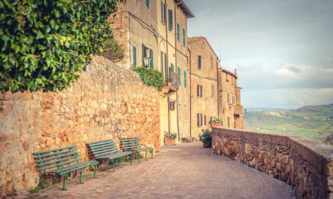 Pienza, tra le vie più romantiche d'Italia
