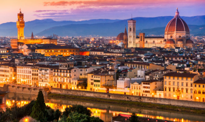Weekend da innamorati a Firenze