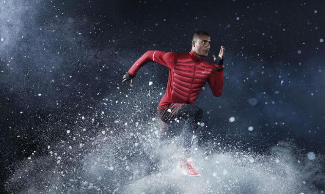 Nike dà aria al piumino da running