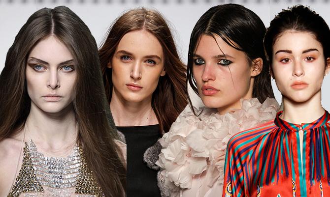Milano Moda: uno sguardo ravvicinato al make-up