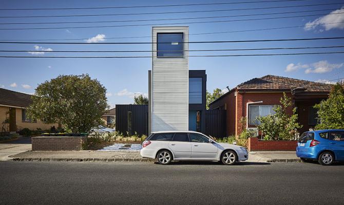 Brunswick West, la spettacolare casa modulare