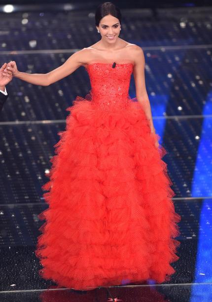 Outfit Sanremo Giorgio Armani