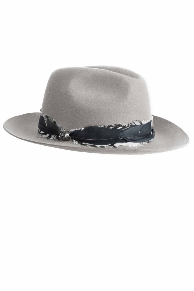 Cappello Steva Grey
