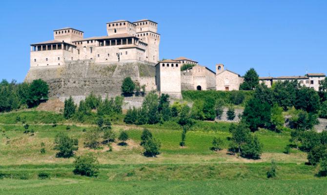 Sulle colline di Parma il castello degli innamorati