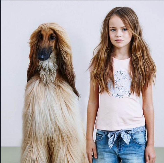 Kristina Pimenova per Armani Junior