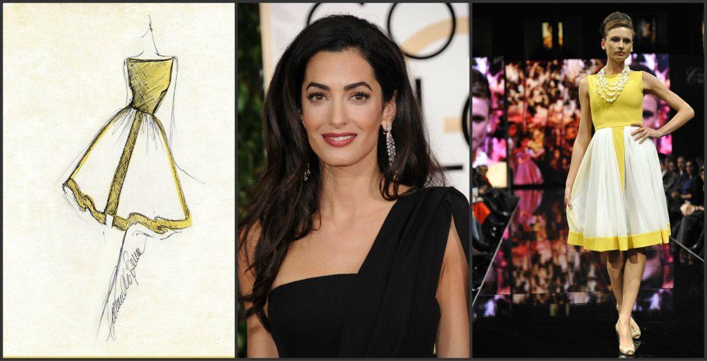 Ecco il nuovo abito di Amal Clooney