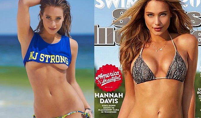 Hannah Davis, la cover girl 2015 di Sport Illustrated