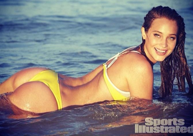 Hannah Davis per Sport Illustrated
