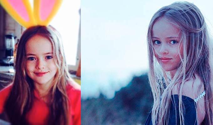 Kristina, la bambina più bella del mondo