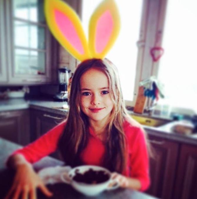 Kristina Pimenova a colazione