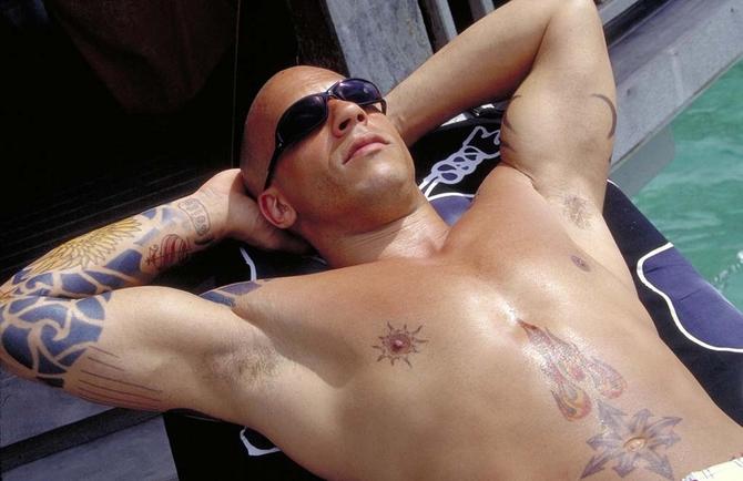 Vin Diesel ex buttafuori di New York
