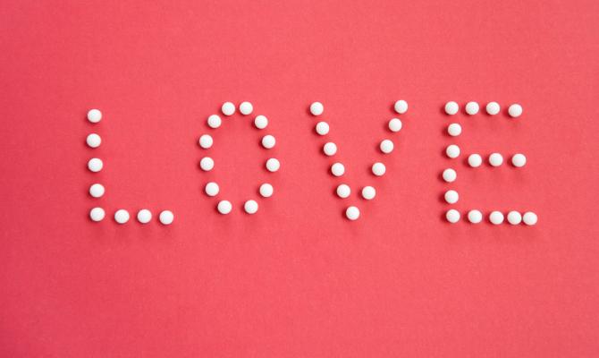 Love scritta