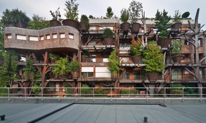 25 Verde, la casa-albero di Torino
