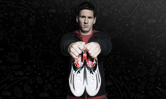 L'infanzia di Messi secondo adidas