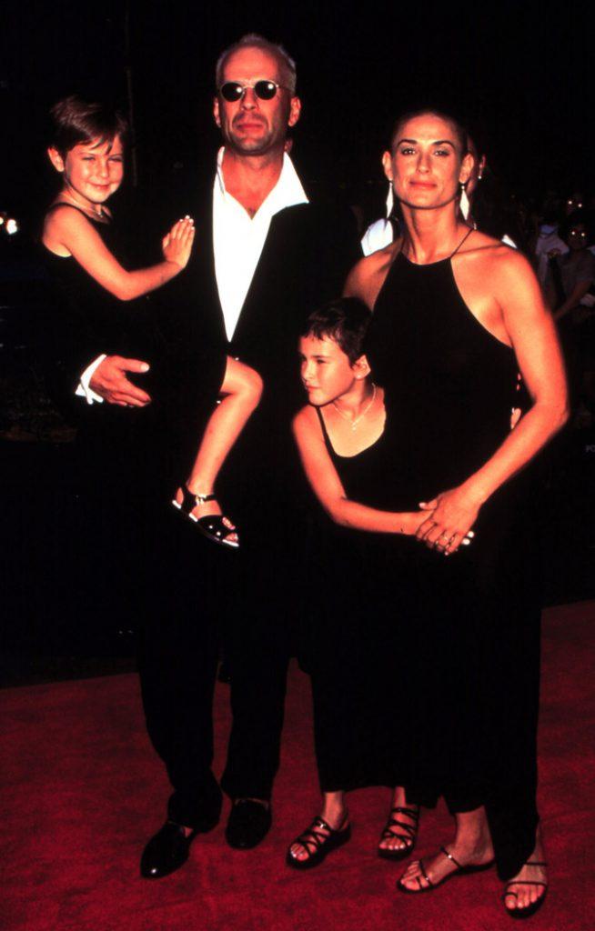 Bruce Willis papà di cinque figlie