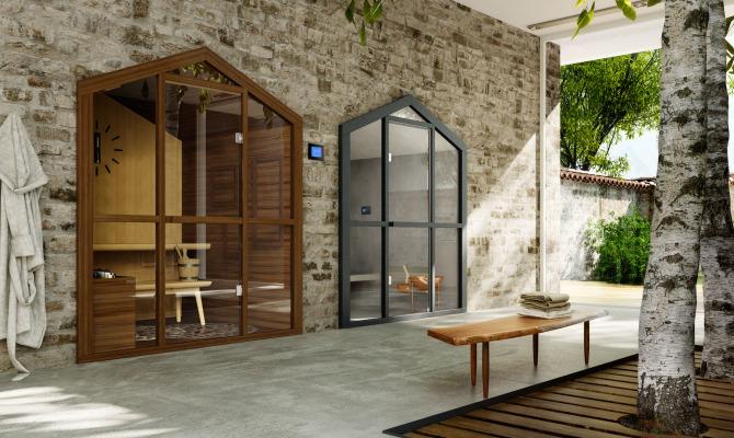 Sauna vista giardino: il lusso del relax