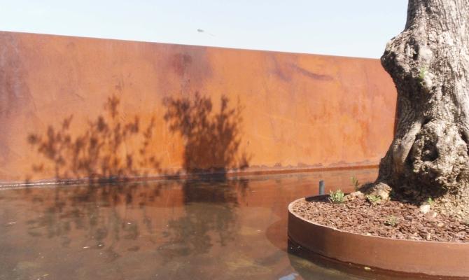 Cemento effetto ruggine: arriva metal line www.stile.it
