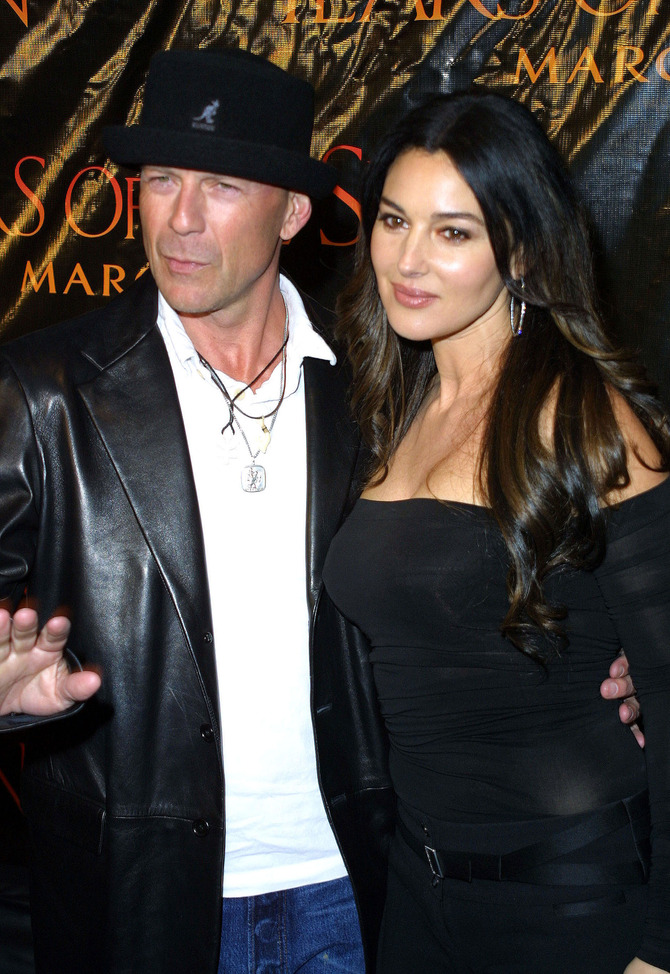 Bruce Willis e Monica Bellucci